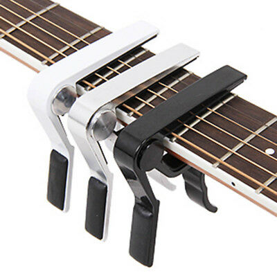 Metal Guitar Capo for Acoustic/Electric/Classic Trigger Change Tune Key Clamp