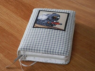 New World Translation 2013 Zipped Fabric Bible Cover - Steam Engine (2)