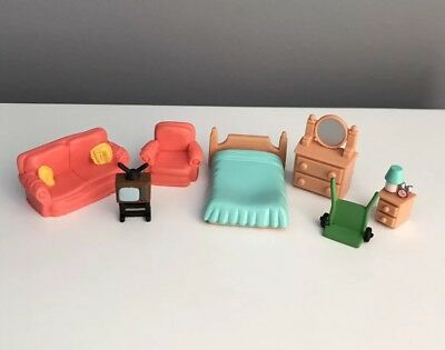 Vintage Teeny Weenie Families Furniture Spare Parts Accessories Polly Pocket
