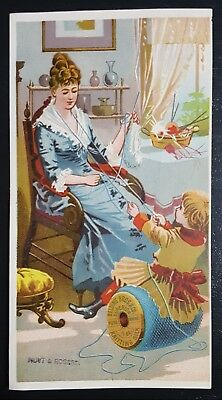 Vintage Advertisement Card Hoyt & Rogers Sycamore Illinois Dry Goods Boots Shoes