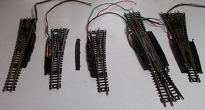 Train N Scale Atlas Switch Lot For Repair Double Crossover Turnout 2562 2563