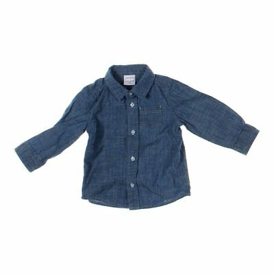 Jumping Beans Baby Boys Shirt, size 18 mo,  blue/navy,  cotton