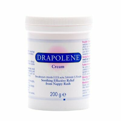 2 x Drapolene Antiseptic Nappy Rash Cream - 200g