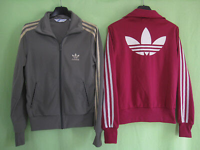 popular stores pick up buying new LOT 2 VESTE Adidas Originals rose marron Trefoil Jacket ...