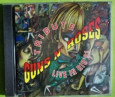 Guns N' Roses Tribute Live In Rio 91 + New York 1988. Cd Men At Work 1991. Slash