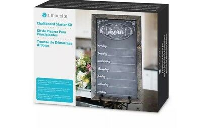 Silhouette CHALKBOARD STARTER KIT for Silhouette Cameo & Portrait Cutters New