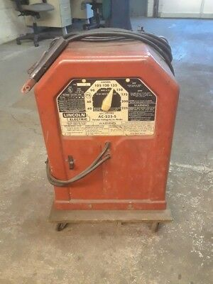 Lincoln Electric 225s A/C Stick Welder