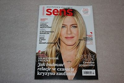 Sens 2/2019 Jennifer Aniston on the cover and 6 pages,