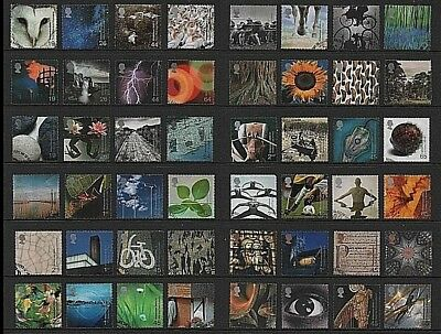 GB Stamps 2000 Millennium Projects - Fine used (Multiple listing)