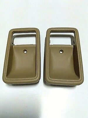 1 PAIR ARM REST DOOR HANDLE PULL FOR TOYOTA HILUX PICKUP MK3 LN85 1989-1997