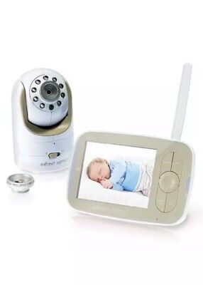 Infant Optics DXR 8 Video Baby Monitor With Interchangeable Optical Lens White