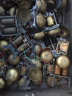Lot of Antique Western Electric, Kellogg, bell telephone ringers