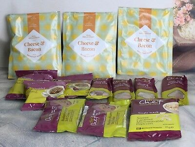 Mixed Bundle of 10 Diet Chef items and 3 Exante Bacon and cheese items