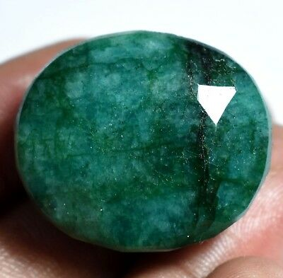 Loose Gem Stone 112.35 Ct Natural Huge Green Emerald AGSL Certified Museum Use