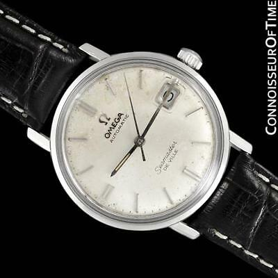 1967 OMEGA SEAMASTER Vintage Mens Cal. 560 SS Steel Watch, Rare Only Approx. 333