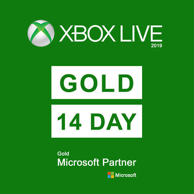 Xbox Live Gold Membership 14 day (2 WEEKS) Subscription Code INSTANT
