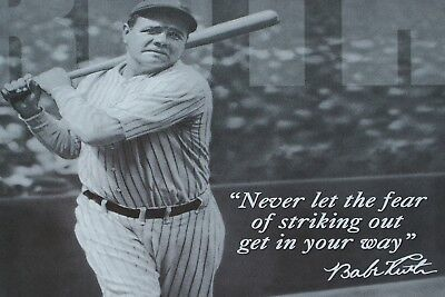 #03 Babe Ruth Baseball NY Sport Athlete 40x60 inch More Sizes Large Poster