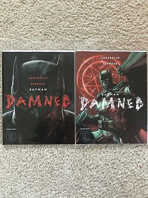 Batman Damned #1 Cover A & B 1st Prints UNCENSORED *RARE*