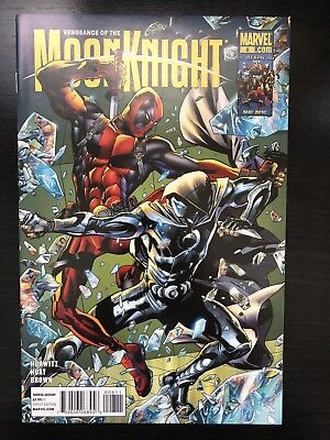 VENGEANCE OF THE MOON KNIGHT #8 Deadpool NM
