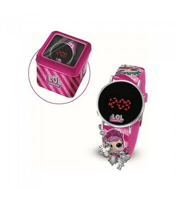 Lol Surprise Orologio LCD con Glitter Fashion Charms Giochi Preziosi