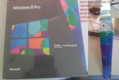 Last 3 - No More! Windows 8 Pro Dvd Set~Still Sealed In Original Shrink Wrap!!