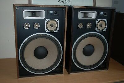 Vintage Sansui SP 7300 4 Way 5 Speaker System HiFi Speakers - 160 W
