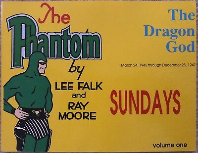 1940s Sunday Comic Strips: The Phantom by Lee Falk & Ray Moore, Vol.1