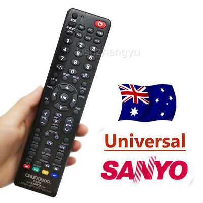 Universal Smart TV Remote Control For SANYO 3D LCD LED HD TV Replacements
