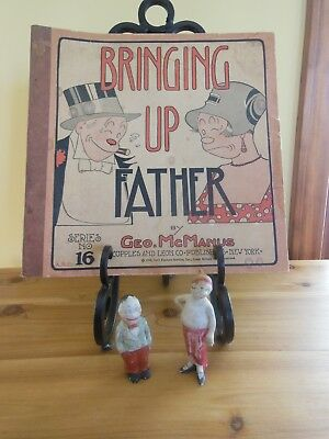 BRINGING UP FATHER COMIC BOOK AND FIGURES 1920s RARE -Cupples and Leon Co.