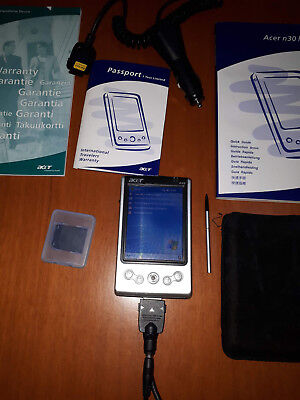 Acer N30 Poket PC PDA completo