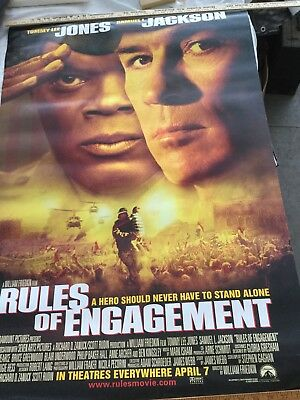 Rules of Engagement (2000) original movie poster - double-sided - rolled
