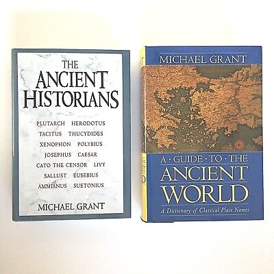 Michael Grant Lot 2: Guide to Ancient World 1997, The Ancient Historians 1994