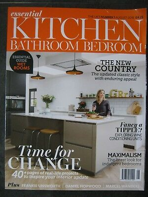Essential Kitchen & Bathroom magazine August 2018 Maximalism Wine Conditioning