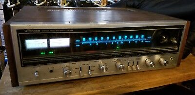 PIONEER SX-838 STEREO RECEIVER Powers On For Parts Not Working