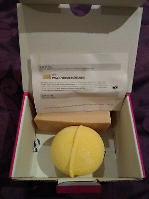Lush Bath Bomb And Soap