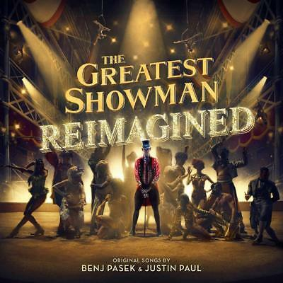 New THE GREATEST SHOWMAN REIMAGINED CD Released 16/11//2018 Pink, Jess Glynne
