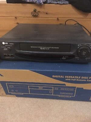 LG PW90i Video Player & Recorder VCR