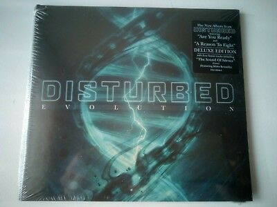 Disturbed - Evolution Deluxe Cd New And Sealed 2018