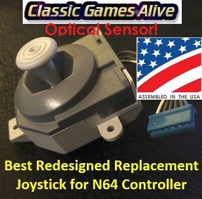 Best Redesigned Replacement OPTICAL Joystick for Nintendo 64 Controller N64