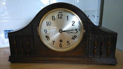 Large Vintage Whittington and Westminster Chime Mantel Clock