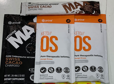 Pruvit Keto//os & Max - Variety Pack ( 6 Single Packets) - Free S&h!