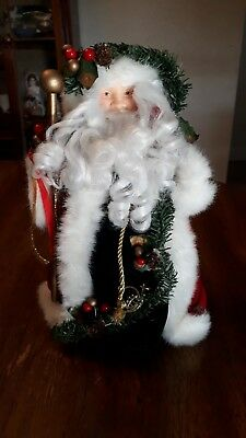 Old World Santa Claus Figurine 12 Inches tall Christmas Decoration