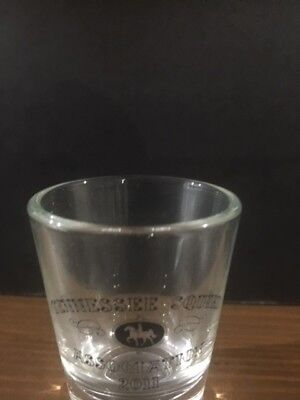 Jack Daniels Limited Editio Tennessee Squire Association 2011 Shot Glass