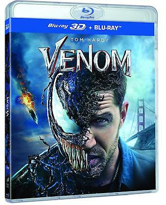 Venom (Blu-ray 2D/3D) BRAND NEW!! MARVEL!! TOM HARDY!!