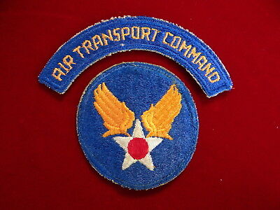 US Army Air Corps Transportation Command Patch, AAC, WWII, WW2, World War II