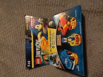 Lego dimensions level pack 71244  sonic the hedgehog  new in box