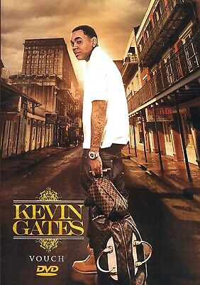2350cc378b5e KEVIN GATES-  vouch  ...dvd.... Music Videos... 2019.. Super Hot ...