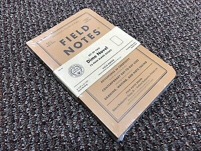 Field Notes Dime Novel Blank Notebooks / Limited Edition Sealed 2-Pack Books