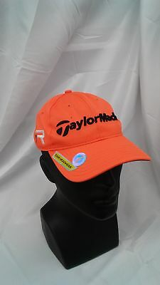 New Women s Taylormade Golf 2013 Radar LPGA Adjustable Hat Orange 78ec4c84a320