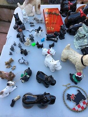 Black Scottie Dog The Canine Collection Figurines A Whole Lot Of Them